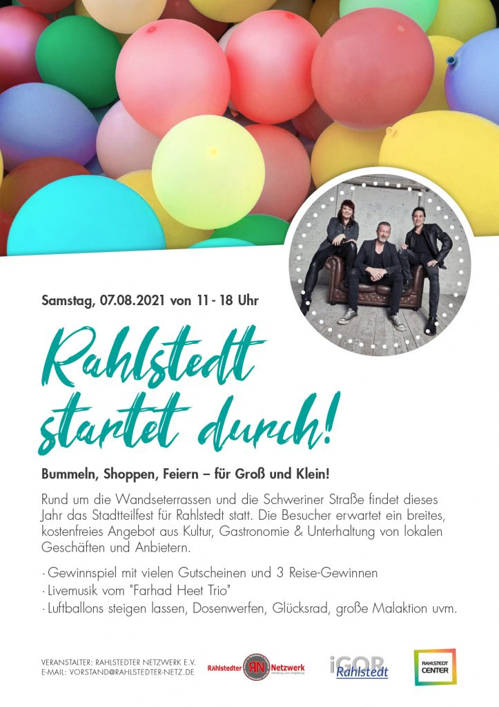 Rahlstedt startet durch!
